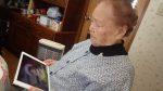 95歳にしてiPad