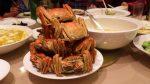 上海蟹フルコースでした